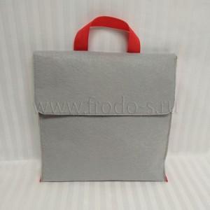 Рюкзак из фетра 26х26х3